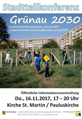 """Bildinhalt: Stadtteilkonferenz """"Grünau 2030"""""""