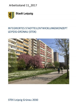 """Bildinhalt: Integriertes Stadtteilentwicklungskonzept """"Grünau 2030"""""""