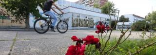 """Bildinhalt: """"Neugestaltung des Grünauer Quartierszentrums WK2 beginnt"""""""