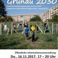 """Stadtteilkonferenz """"Grünau 2030"""""""