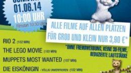 Klein-Kinder-Kino im Cineplex zum Kindertag