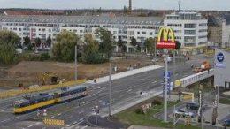 Die Luisenbr?cke als Teil der L?tzner Stra?e wurde bereits 2012 wieder freigegeben. Foto Armin K?hne