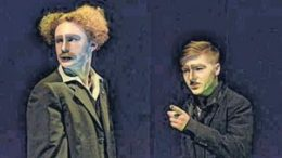 Maskenhaftes im Theatrium. Foto: Constanze Burger
