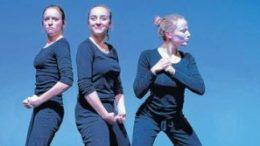 Ausdrucksstark: das Pantomimenspiel in ZERRISSEN im Theatrium. Foto: Silvana Kuhnert