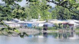 Immer gut gebucht: der Campingplatz am Kulkwitzer See. Foto: Andr? Kempner