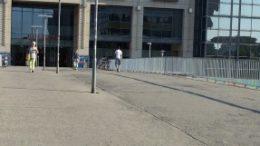 Die Br?cke Stuttgarter Allee wird bis Mitte 2016 saniert.