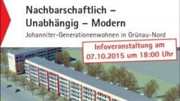Mehrgenerationenwohnprojekt der Johanniter.