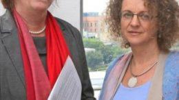 LWB-Gesch?ftsf?hrerinnen Gabriele Haase (60