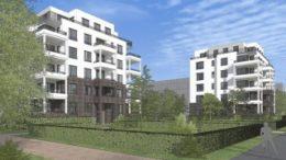Neue Wohnformen in Gr?nau: Seeterrassen der WG Lipsia am Kulkwitzer See in Gr?nau. Grafik: Lipsia