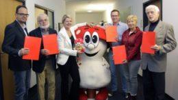 ?bergabe der Spenden aus der PS-Lotterie durch die Sparkasse Leipzig (S?d). Foto: Sparkasse Leipzig