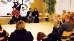 Er?ffnung des ersten Begenungsortes in Gr?nau im Caritas Familienzentrum. Foto: Gr?n-As
